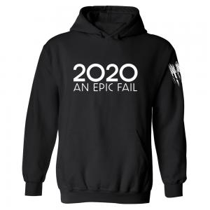 2020 An Epic Fail Hoodie Black