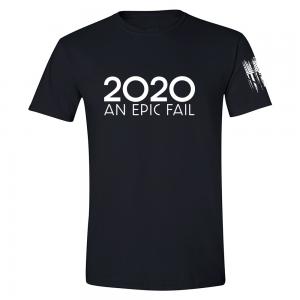 2020 An Epic Fail Shirt Black