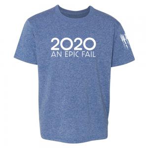 2020 An Epic Fail Shirt Blue