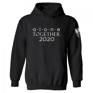 Alone Together 2020 Hoodie Black