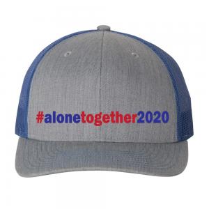 Alone Together 2020 Hat Blue
