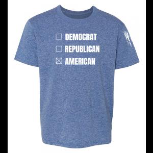 Vote American Shirt Blue