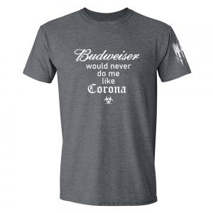 Budweiser Corona Shirt Grey