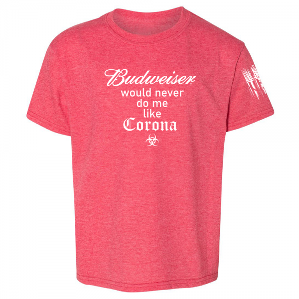 Budweiser Corona Shirt Red