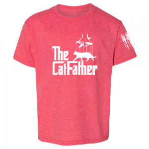 The Catfather Shirt Red