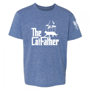 The Catfather Shirt Blue