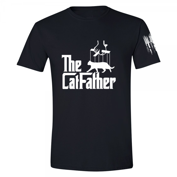 The Catfather Shirt Black