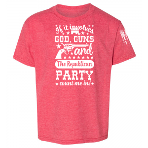 Guns Republicans Shirt Red