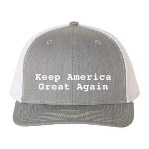 Keep America Great Again Hat Grey