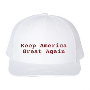 Keep America Great Again Hat White