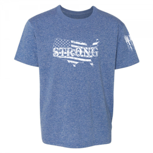 United States of America Strong Shirt Blue