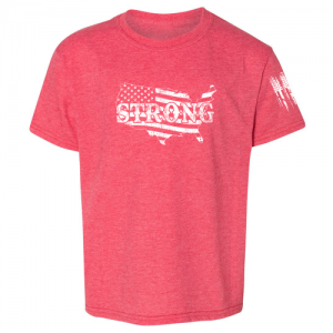 United States of America Strong Shirt Red