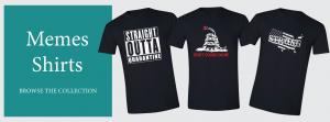 Memes T-shirts Banner