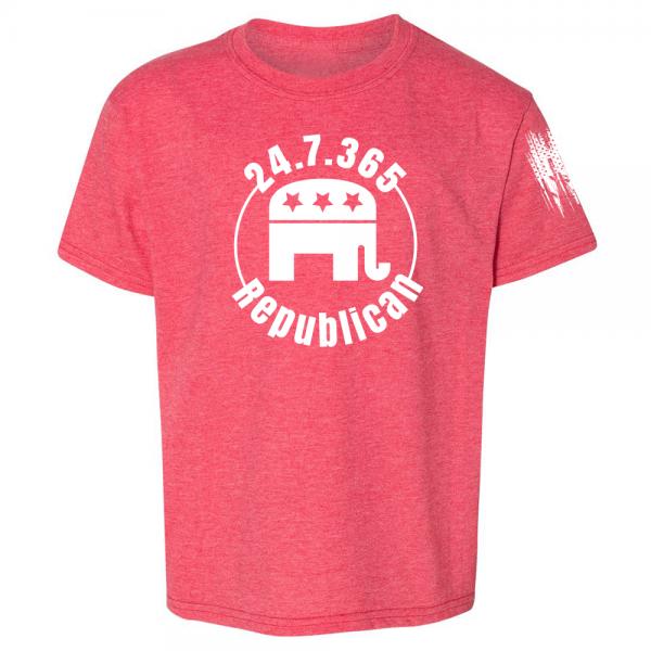 247365 Republican Shirt Red