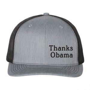 Thanks Obama hat Black