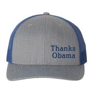 Thanks Obama hat Blue