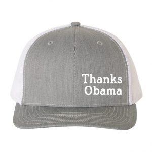 Thanks Obama hat Grey