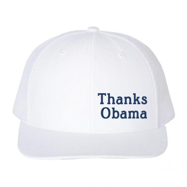 Thanks Obama hat White