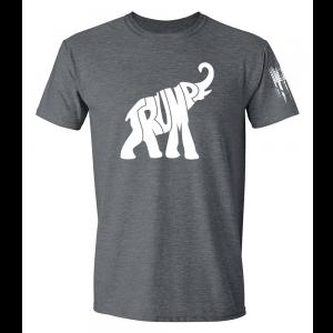 Trump GOP Elephant Shirt Grey