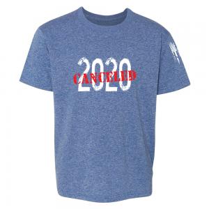 2020 Canceled Shirt Blue
