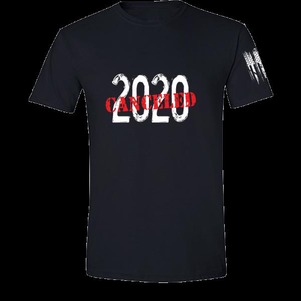 2020 Canceled Shirt Black
