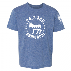 247365 Democrat Shirt Blue