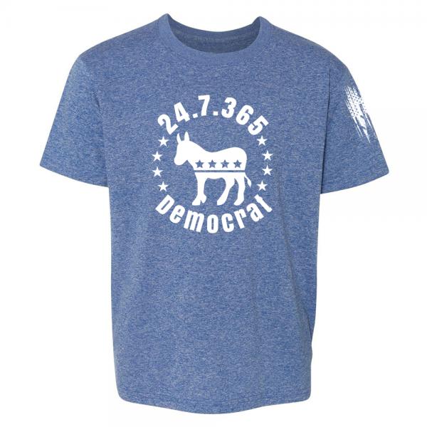 247365 Democrat Shirt Blue