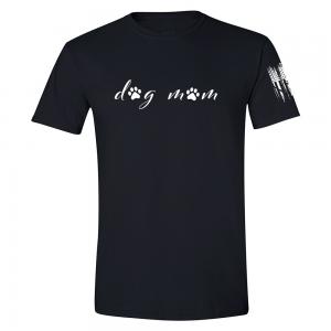 Dog Mom Shirt Black