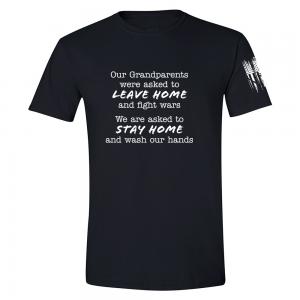 Grandparents Fight Wars Shirt Black