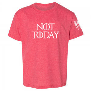 Not Today Game of Thrones Shirt Red