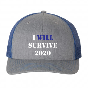 I Will Survive 2020 Hat Blue