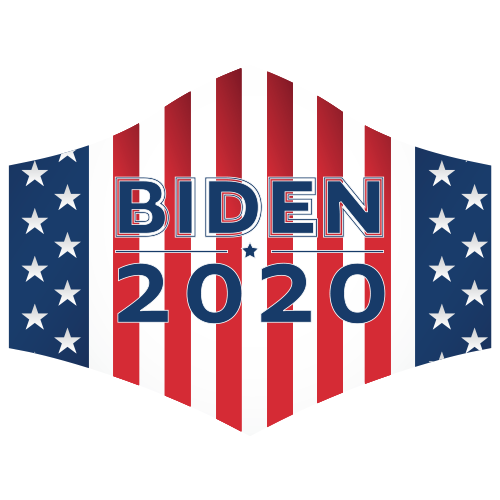 Biden 2020 Face Mask