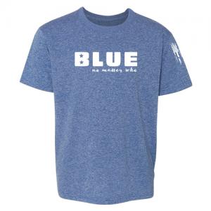 Blue No Matter Who Democrat Shirt Blue