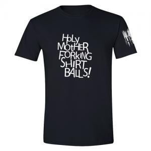 Holy Mother Forking Shirtballs Good Place Shirt Black