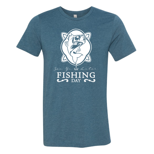 Fishing Day t-shirt